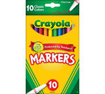 Fine Line Markers, Classic Colors 10 ct.