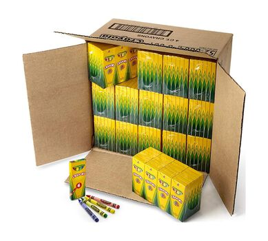 4 ct Crayons - 360 boxes per case pack