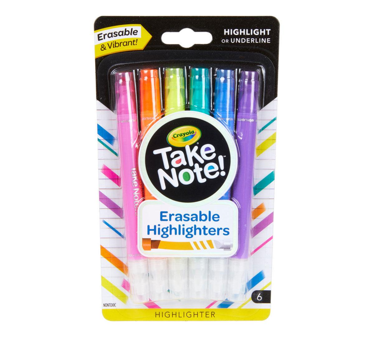 Crayola Erasable Highlighter-Yellow