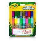 Washable Glitter Glue front