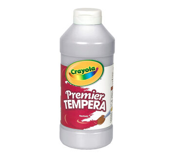 Premier Tempera Paint 16-oz. Silver