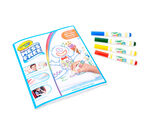 Color Wonder Stow and Go Studio shell and products