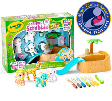 Scribble Scrubbie Safari Tub Set