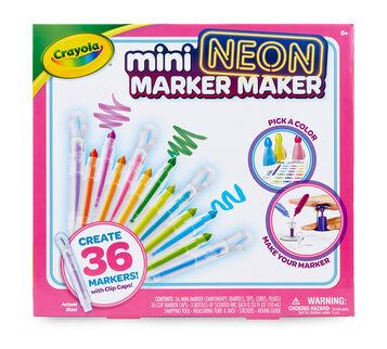 Mini Neon Marker Maker back