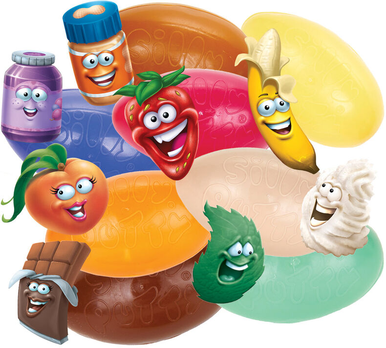 Silly Scents Silly Putty, Sweet Mystery Scent, 1 Count