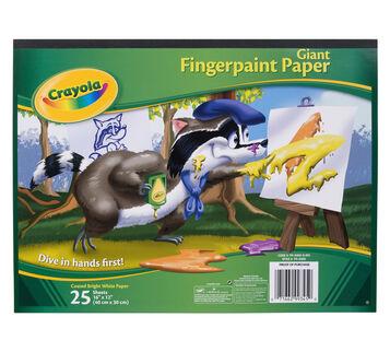 Giant Fingerpaint Paper