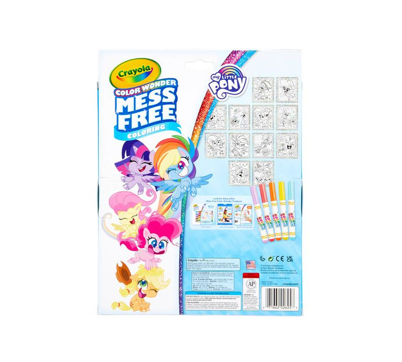 Color Wonder Mess Free My Little Pony Glitter Box