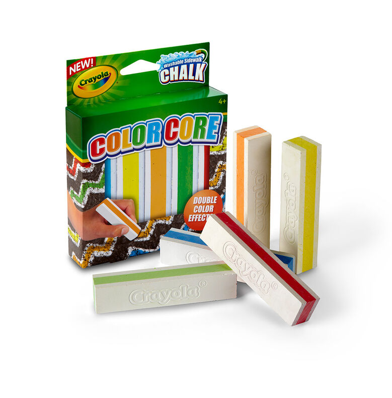 Special Effects Sidewalk Chalk - Color Core