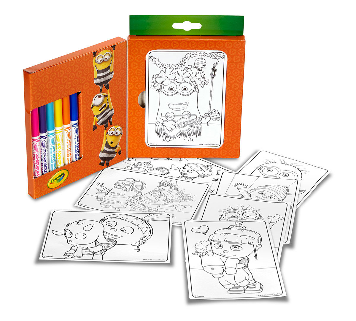 Crayola Mini Coloring Pages, Despicable Me Edition, Art Activity, Great For  Travel Crayola