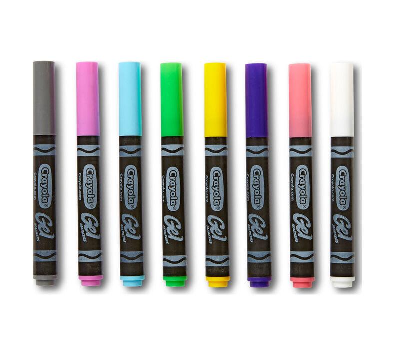 Gel Markers Classpack, 80 Count, 8 Colors