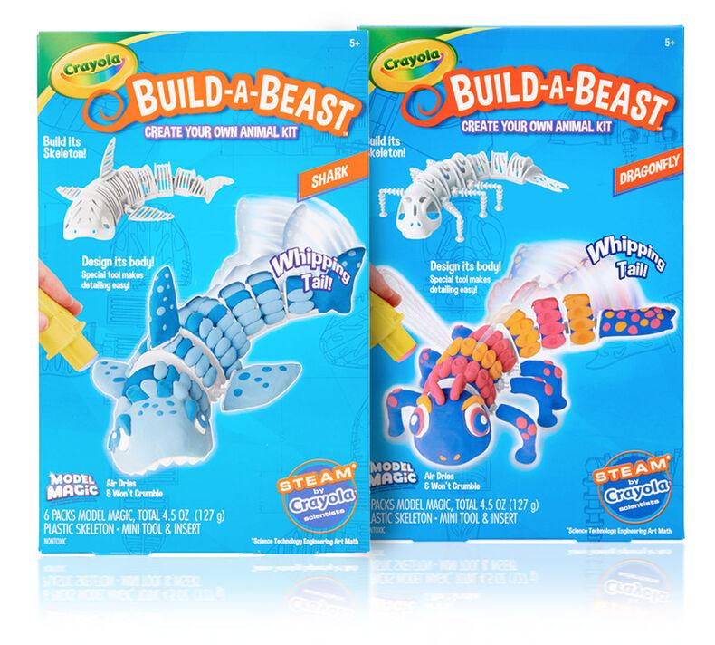 Build A Beast Craft Kits, Set of 2