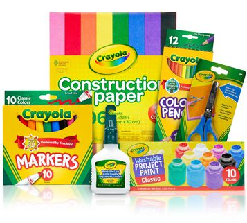 Kids Homework Station Supplies Kit - You Pick