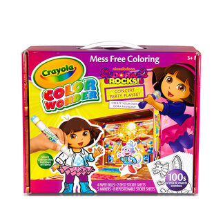 Color Wonder Dora Rocks Playset