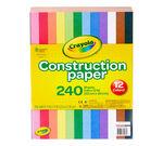 240 Count Construction Paper front