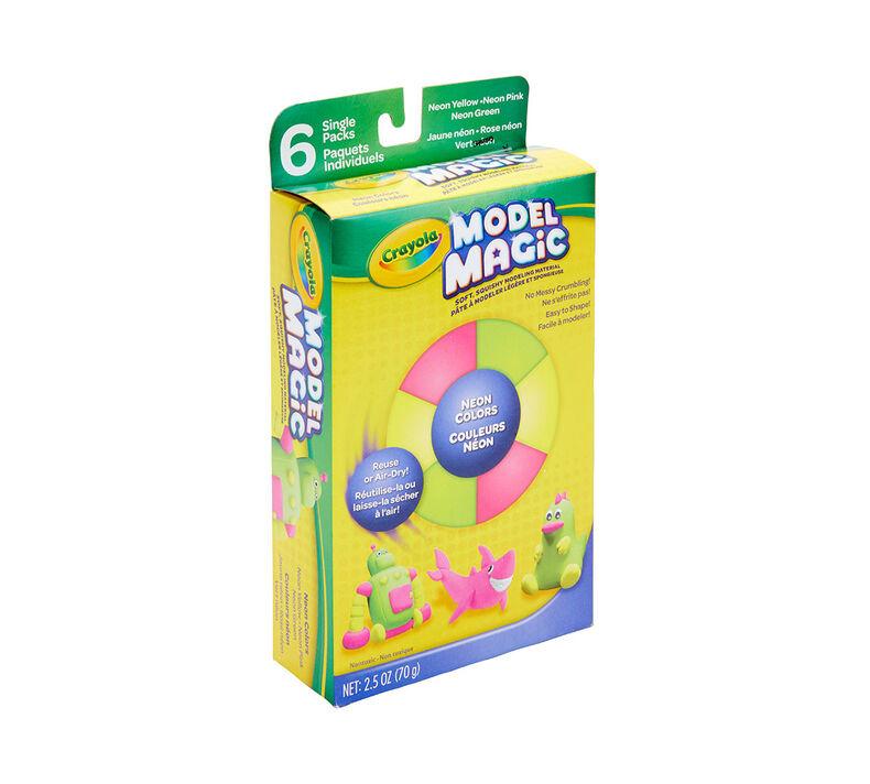Neon Model Magic Assorted, 6 Count