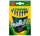 Metallic FX Crayons, 16 Count
