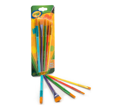 Arts & Crafts Brushes, 5 Count