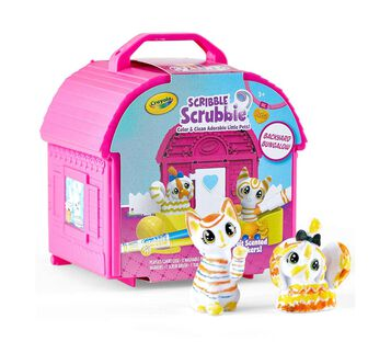 Scribble Scrubbie Pets Backyard Bungalow Playset