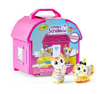 Scribble Scrubbie Pets Backyard Bungalow Playset
