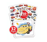 Color & Sticker, Cars 3 Front View