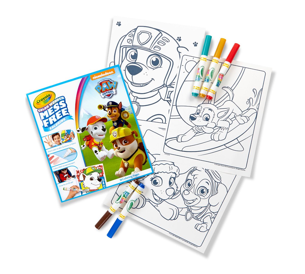 Color Wonder Coloring Pad and Markers, Paw Patrol | Crayola