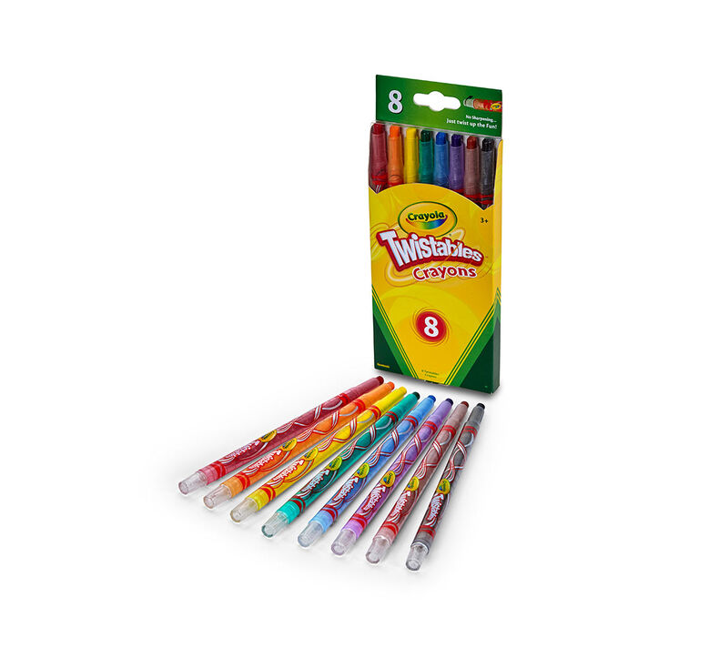 Twistable Crayons 8 ct.