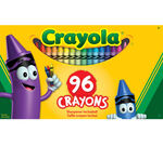96 count Crayons front of box