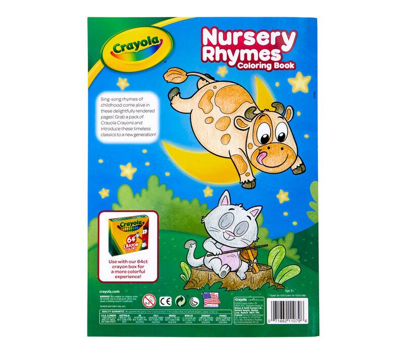 Nursery Rhymes Coloring Book