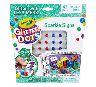 Glitter Dots Sparkle Signs