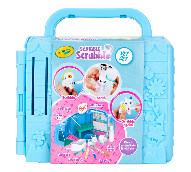 Scribble Scrubbie Pets Vet Set
