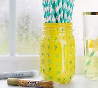 Pineapple Mason Jar Craft Kit