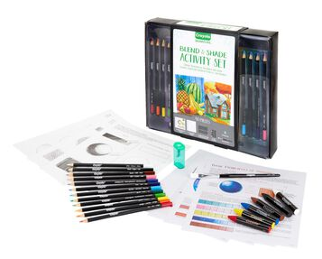 Signature Blend and Shade Activity Kit Items Included