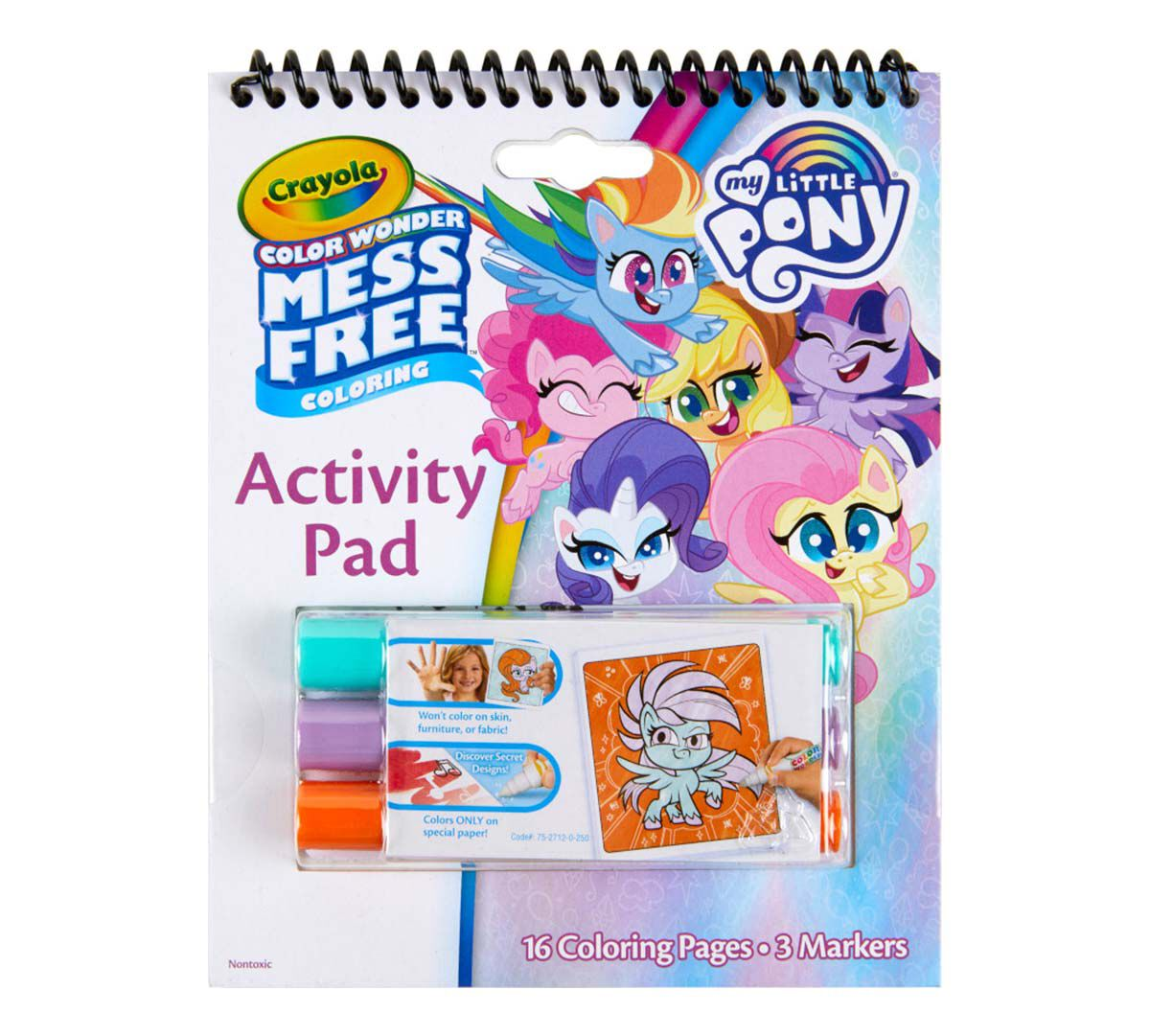 Color Wonder Mess Free My Little Pony Book Crayola.com Crayola