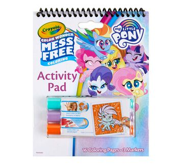 Color Wonder Mess Free My Little Pony Coloring & Activity Pad Front View