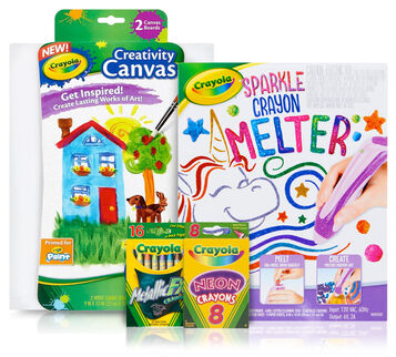 Sparkle Crayon Melter Deluxe Kit