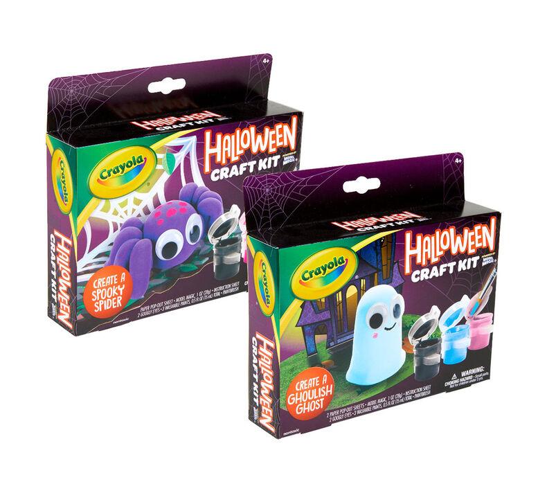 Halloween Spider & Ghost Craft Kits, Set of 12