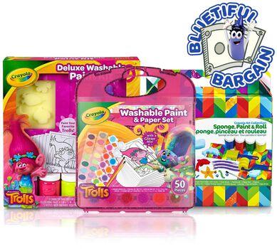 Washable Paint Supplies Value Set