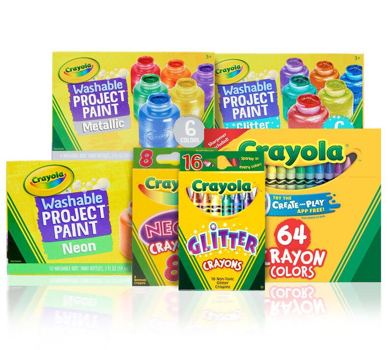DIY Pumpkin Paints and Crayons