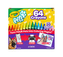 Pets, Camera, Color! Crayons, 64 Count
