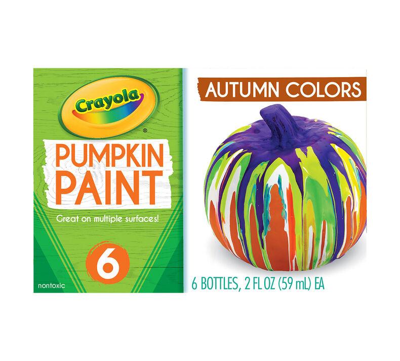 Acrylic Pumpkin Painting Set, Autumn Colors