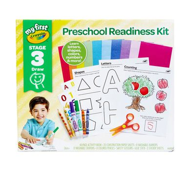 My First Crayola Preschool Readiness Kit