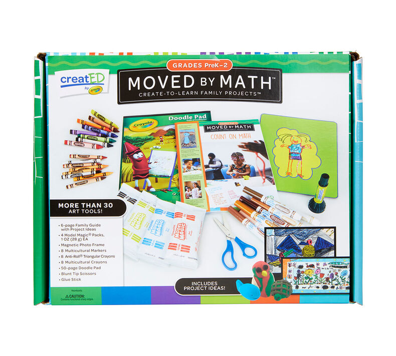 creatED® Family Engagement Kits, Moved by Math: Grades PreK-2: Count on Math