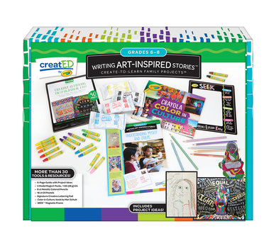 creatED® Family Engagement Kits, Writing Art-Inspired Stories: Grades 6-8: Understanding Self and Others, 30 Count