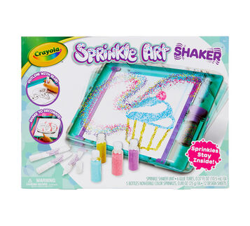 Sprinkle Art Shaker Front View
