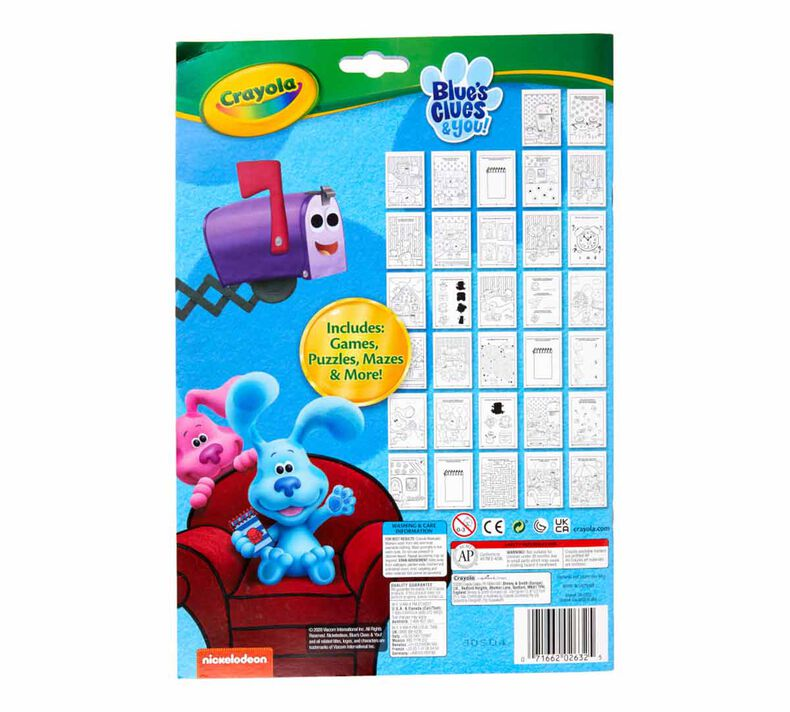 Blue's Clues and You Color & Activity Set