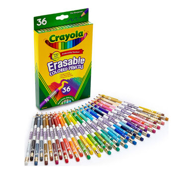 Erasable Colored Pencils, 36 Count