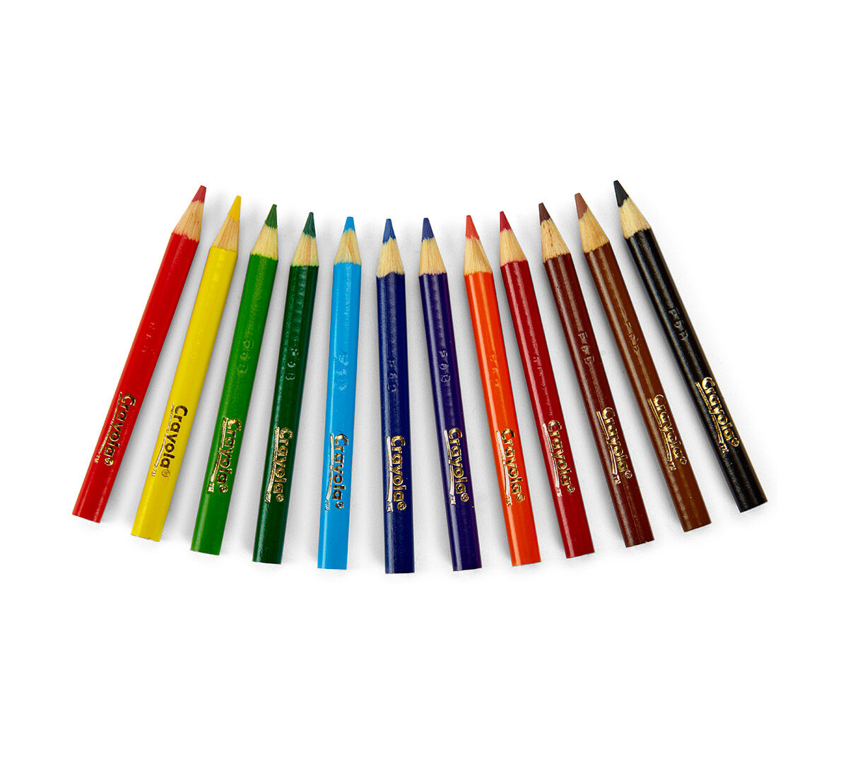 Crayola Colored Pencils, Assorted Colors, Pre-sharpened, Adult ...