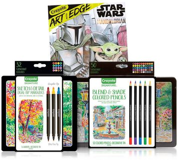 3-in-1 Star Wars Mandalorian Coloring Gift Set