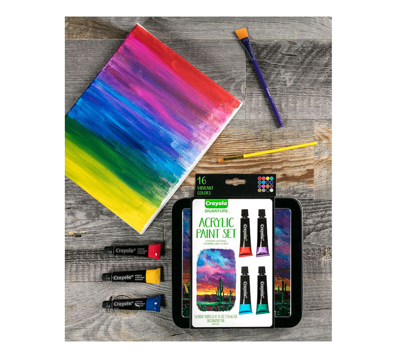 Signature Acrylic Paint Set, 16 Count