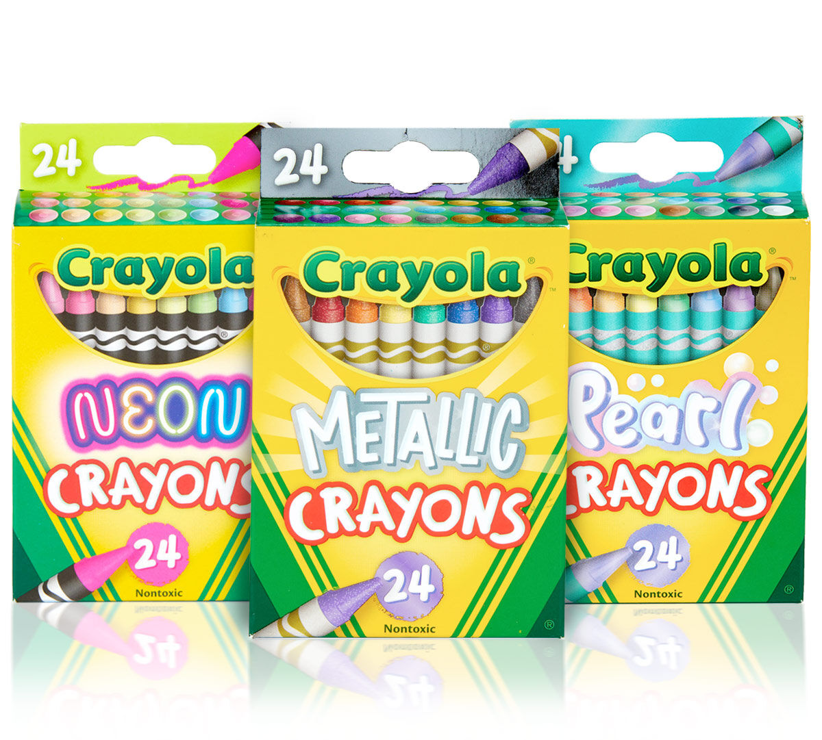 3-in-1 Crayon Set, 72 Count